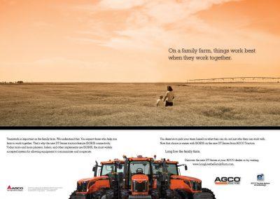 AGCO Tractors DT Series Print Ad