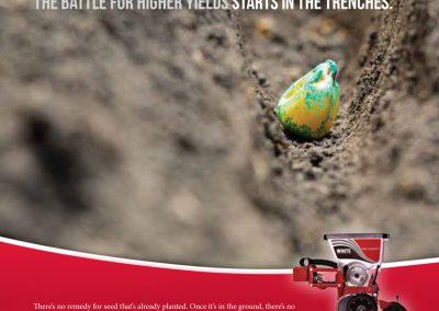 White Planters Print Ad