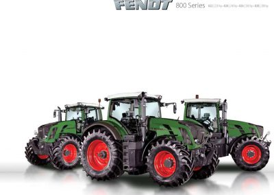 Fendt 800 Series Brochure
